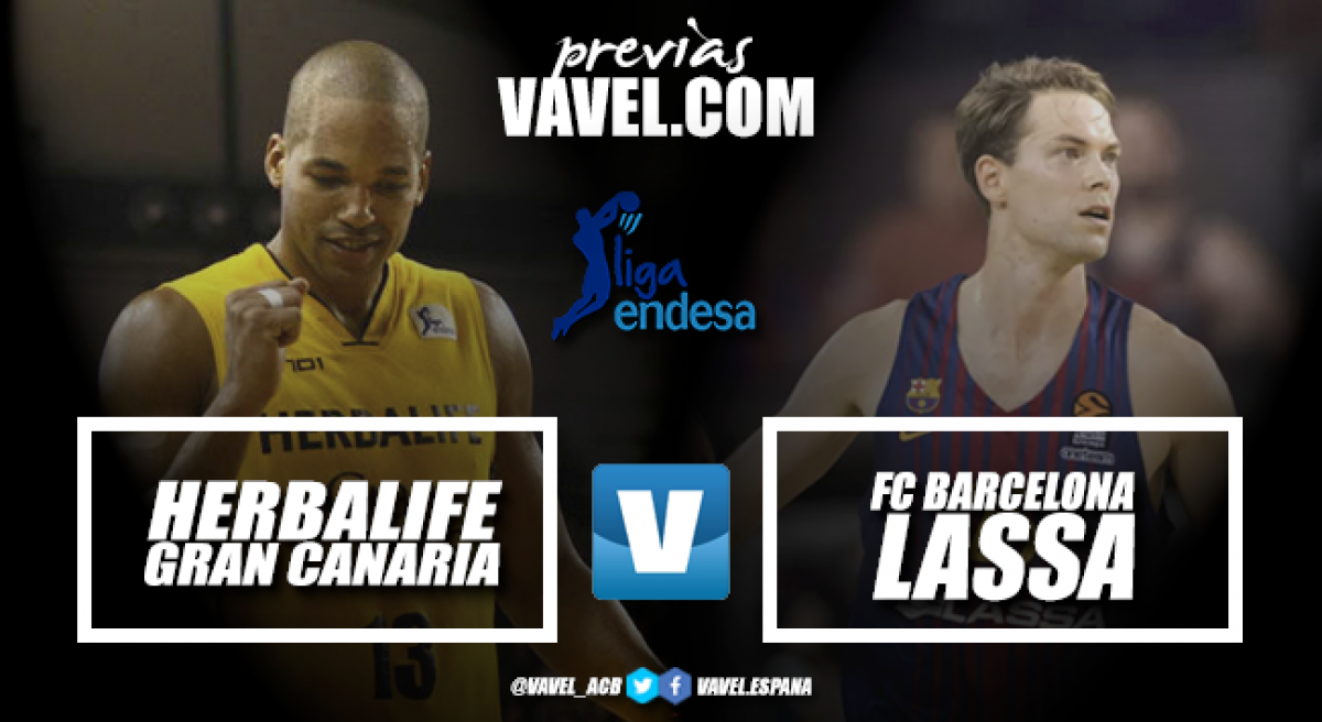 Barça y Gran Canaria se enfrentaron en la semifinal de la Copa del Rey | Montaje: Santiago Arxé Carbona (VAVEL)