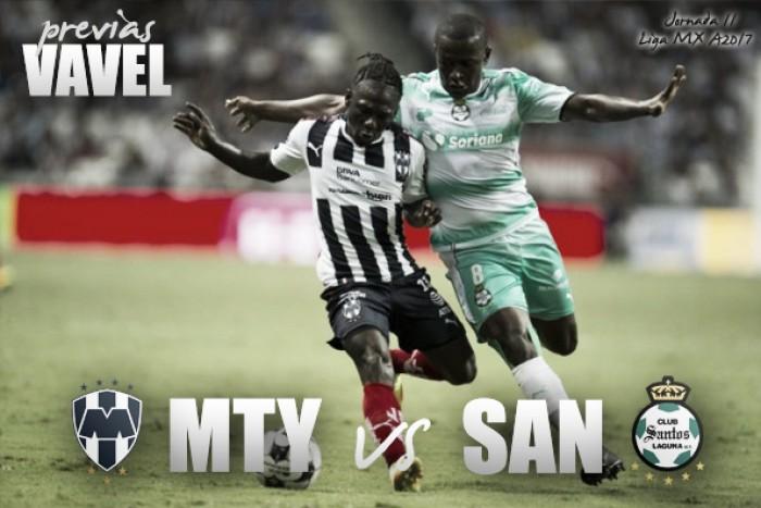 Previa Monterrey – Santos: hora de jugar por México
