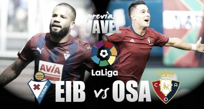 Previa SD Eibar - CA Osasuna: duelo de soñadores
