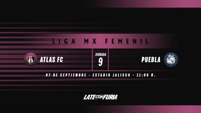 Previa Atlas Femenil - Puebla Femenil: Vuelve la Liga MX Femenil al Jalisco