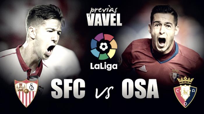 Previa Sevilla - Osasuna: a terminar la liga con buen pie