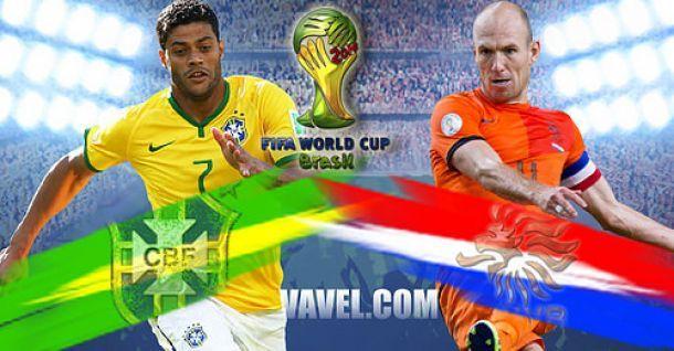 Brasile - Olanda, scontro per il terzo posto