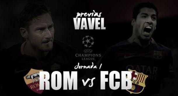 Roma - Barcellona, primo ostacolo per Totti e compagni