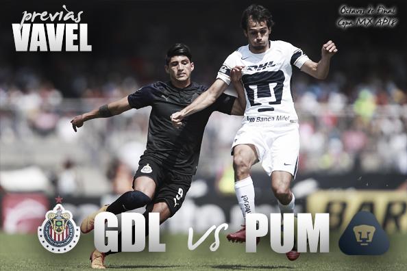 Previa Chivas - Pumas: ¿se mantendrá la paternidad en Copa?