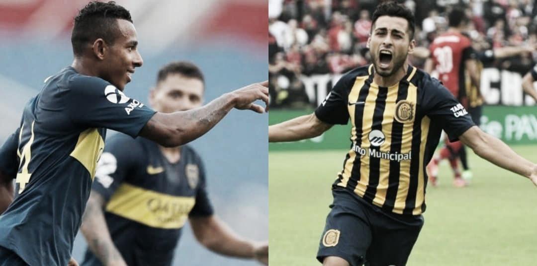 Previa Boca Juniors – Rosario Central: El Canalla visita La Bombonera en busca de la recuperación