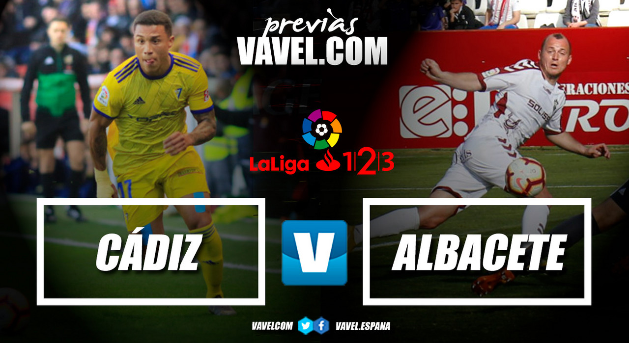 Previa Cádiz CF - Albacete BP: el Cádiz se viste de fiesta para recibir al Albacete