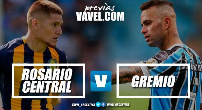Previa Rosario Central - Gremio: el Canalla debuta en la Copa