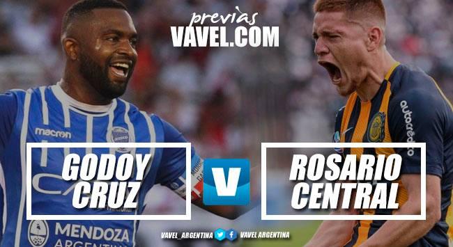 Previa Godoy Cruz - Rosario Central: es hora de ganar
