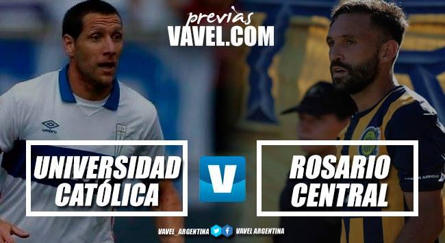 Previa Universidad Católica – Rosario Central: la segunda función en la Copa