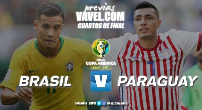 Previa Brasil vs Paraguay: inicio de los cuartos de final de la Copa América