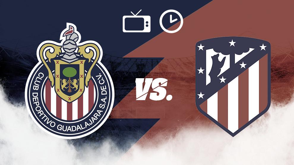 Previa Chivas - Atlético de Madrid: Rojiblancos ante Colchoneros en Arlington