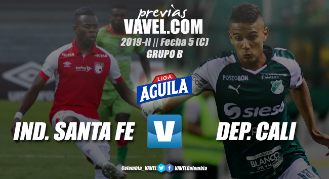 Previa Santa Fe vs. Deportivo Cali: Con la obligación de ganar