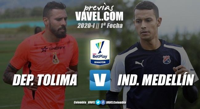 Previa Tolima vs. Medellín: juego atractivo para dar inicio a la liga