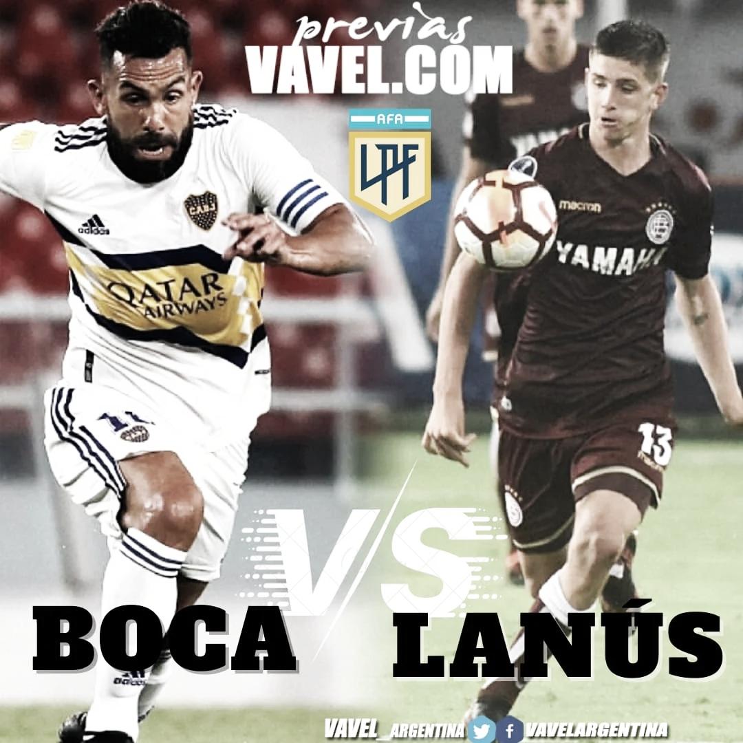Boca vs Lanús: previa de un partido clave por la 12° fecha de la Copa de la Liga 2021