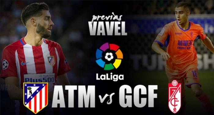 Atlético de Madrid - Granada CF: luchar contra la adversidad