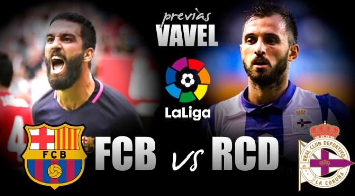 FC Barcelona – Deportivo de la Coruña: a olvidar el tropezón de Vigo