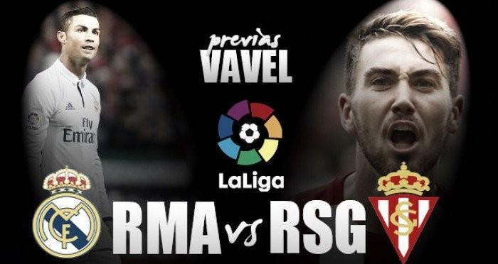 Previa Real Madrid - Sporting de Gijón: el triunfo como forma de vida