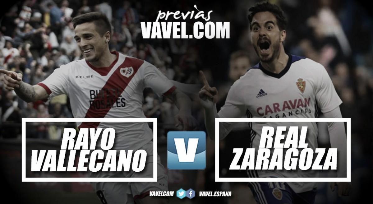 Previa Rayo Vallecano - Zaragoza: tres puntos a sumar para el ascenso