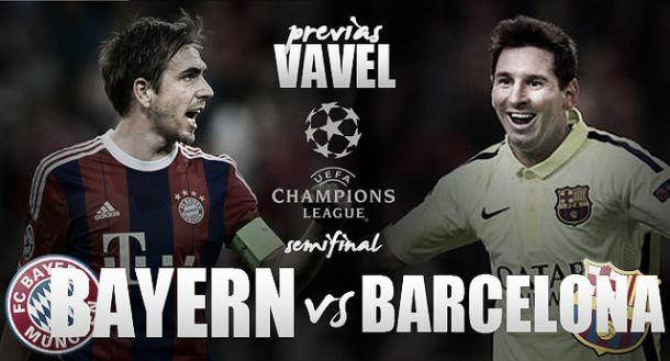 Bayern recebe Barcelona buscando reverter vantagem nas semifinais da Uefa Champions League