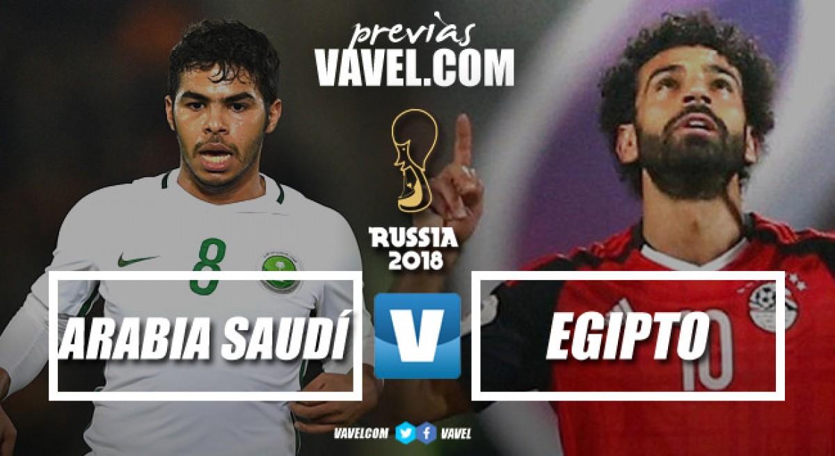 Previa Arabia Saudí - Egipto: solo queda el orgullo