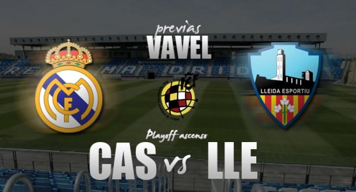 Previa Real Madrid Castilla - Lleida: sin margen de error