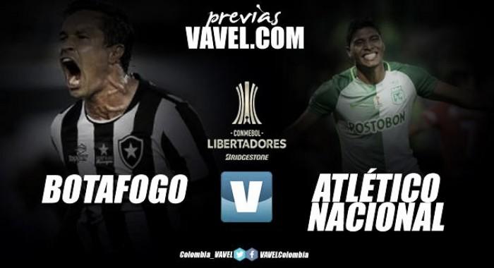 Previa Botafogo vs Atlético Nacional: El campeón se juega su permanencia en la Libertadores