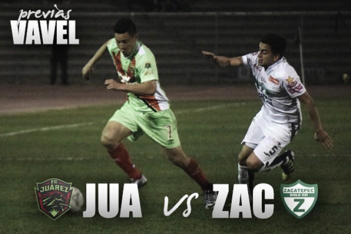 Previa Juárez - Zacatepec: los Bravos buscan alcanzar la cima