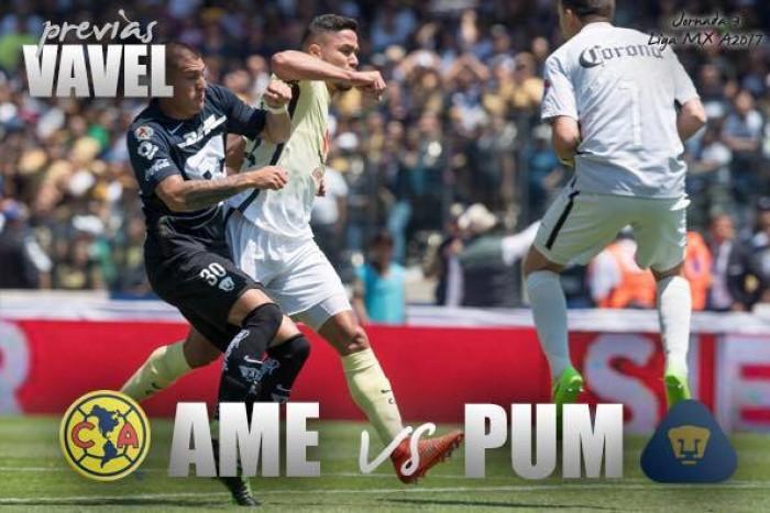 "Previa América - Pumas: ""Por el orgullo capitalino"""