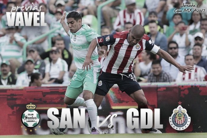 Previa Santos - Chivas: Los 'Guerreros' batallarán ante el campeón