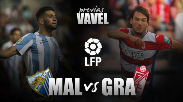 Málaga CF - Granada CF: derbi de necesidades