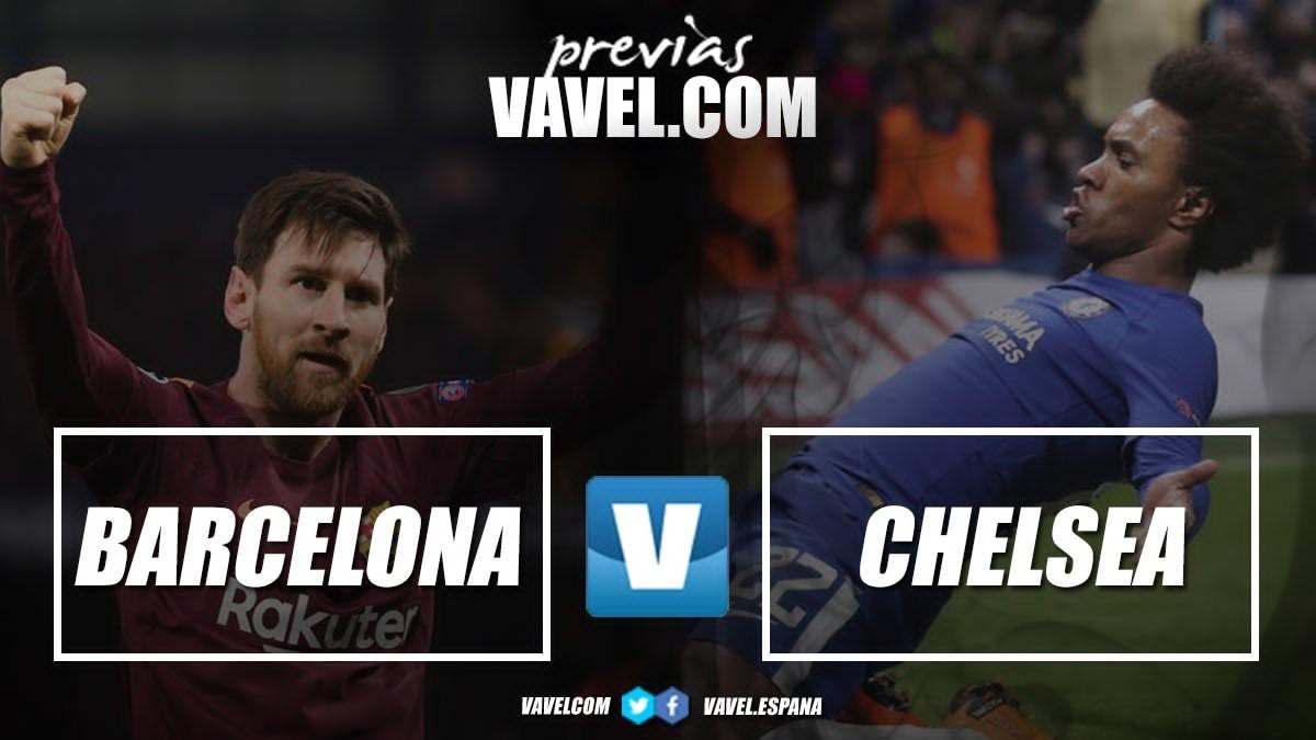 Champions League, il Chelsea cerca l'impresa con il Barcellona