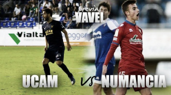 Previa UCAM Murcia CF - CD Numancia: a volver a ganar en La Condomina