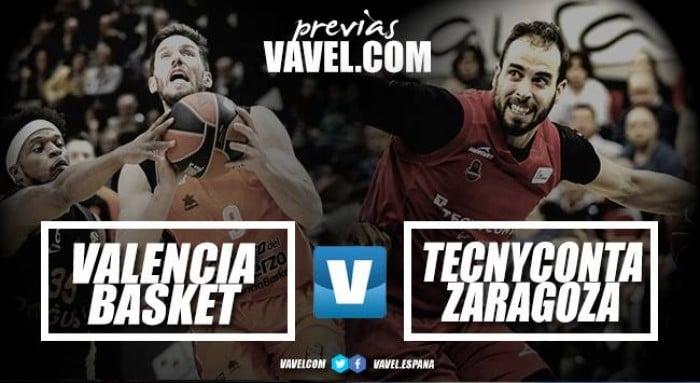Previa Valencia Baket Club vs Tecnyconta Zaragoza: viejos conocidos