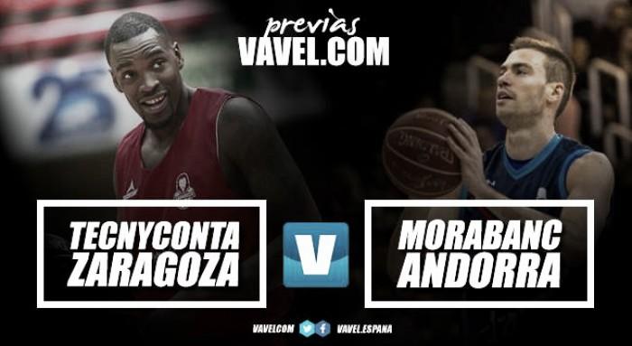 Previa Tecnyconta Zaragoza - MoraBanc Andorra: cuando la necesidad comienza a apremiar