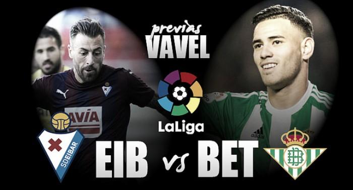 SD Eibar - Real Betis Balompié: con la mirada puesta en Europa
