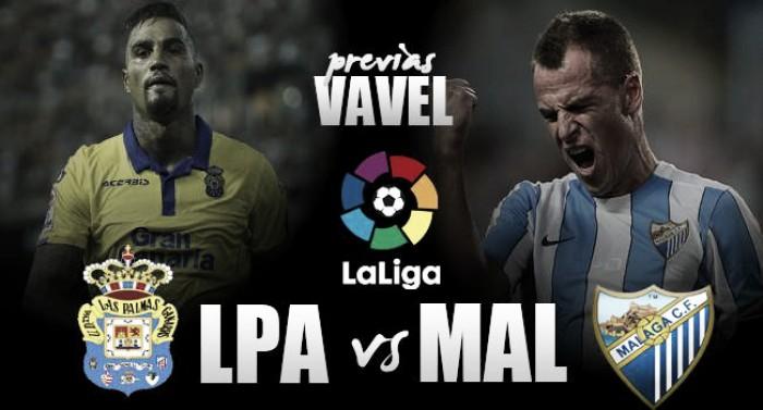 Previa UD Las Palmas - Málaga CF: a la cuarta va la vencida