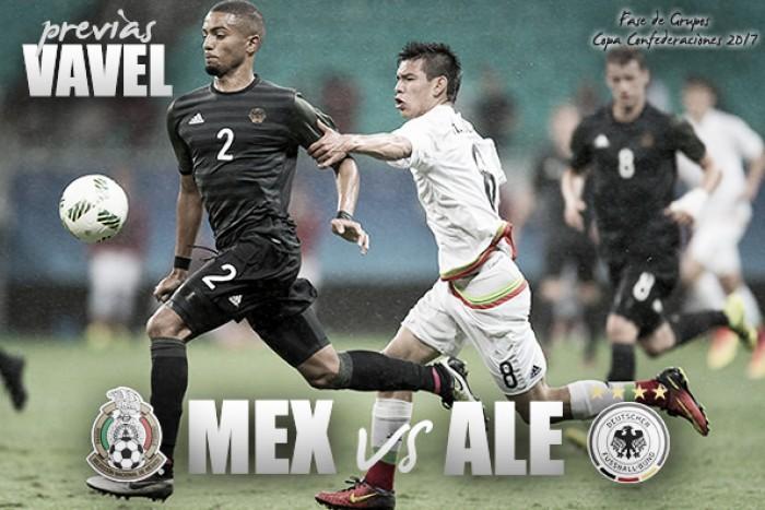 Alemania vs México: La previa, horario y alineaciones
