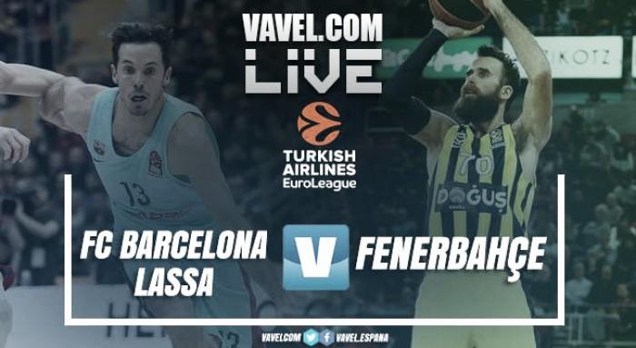 Resumen Barcelona Lassa vs Fenerbahce en Euroliga 2017(68-83)