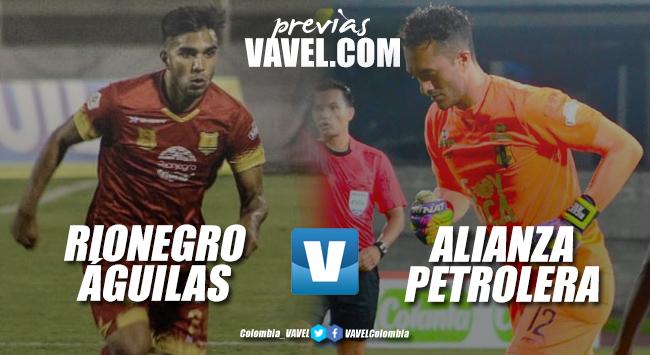 Águilas Doradas Rionegro vs Alianza Petrolera: Por la revancha de un mal debut