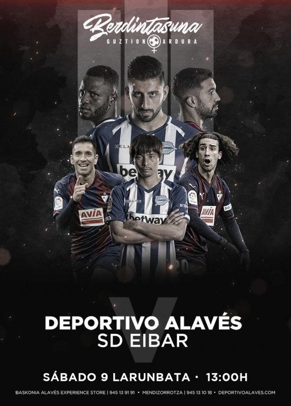 Previa Deportivo Alavés vs SD Eibar: Dos realidades muy iguales luchan por lo mismo; Europa