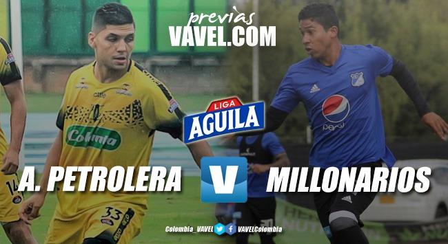 Previa Alianza Petrolera vs Millonarios FC: Un duelo a muerte por los tres puntos
