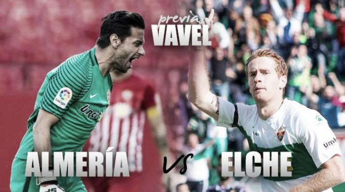 Previa UD Almería- Elche CF: Una victoria, distintos objetivos