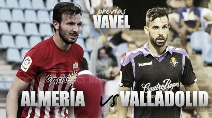 Previa UD Almería - Real Valladolid: una final más para los dos
