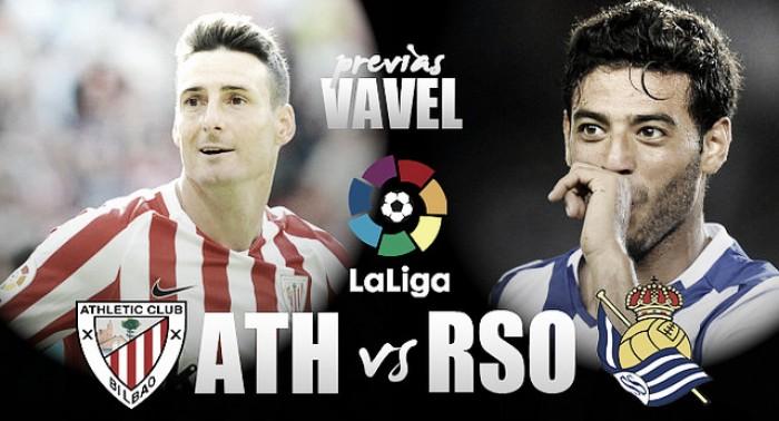 Previa Athletic Club de Bilbao vs Real Sociedad: el derbi más igualado de los últimos años
