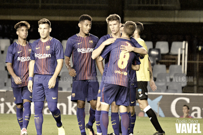 Intenso empate entre Barcelona B y Oviedo (1-1)