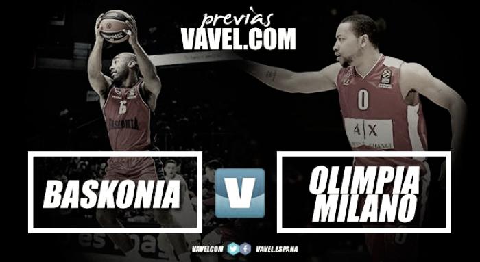 Previa Baskonia - AX Armani Exchange Milan: acercarse al Playoff