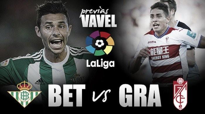 Previa Real Betis Balompié - Granada CF: un derbi para renacer