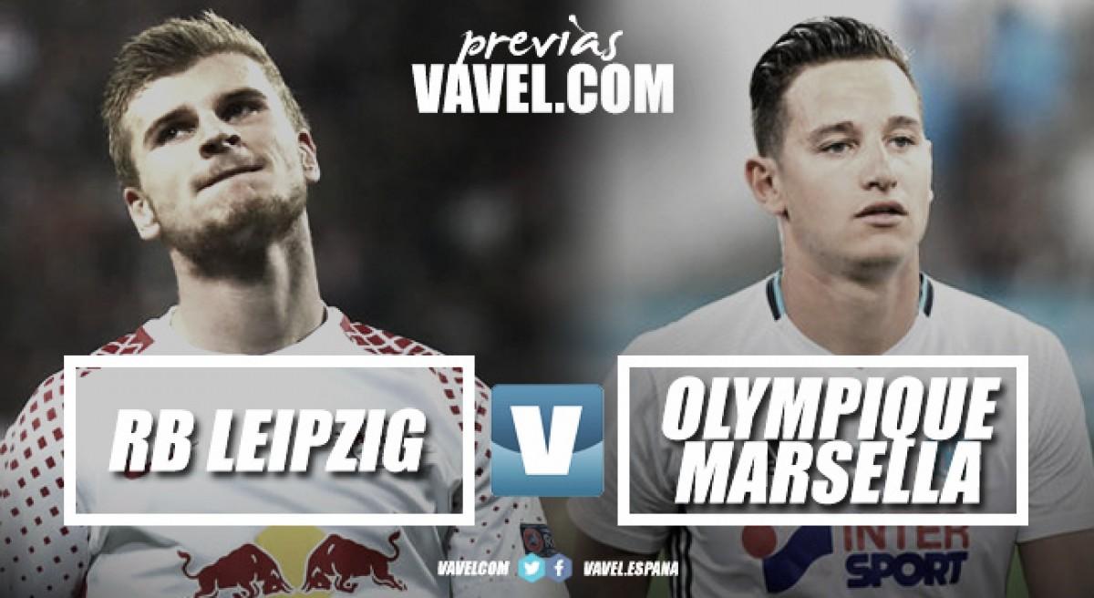 Previa Leipzig-Olympique de Marsella: Los toros quieren hacer historia