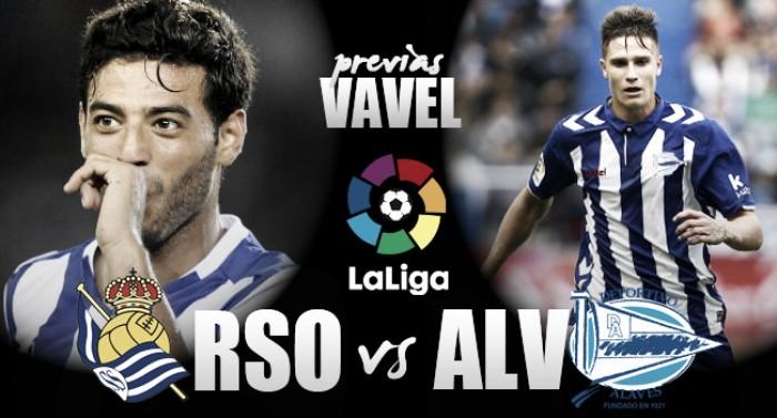 Previa Real Sociedad - Deportivo Alavés: fiesta en azul y blanco