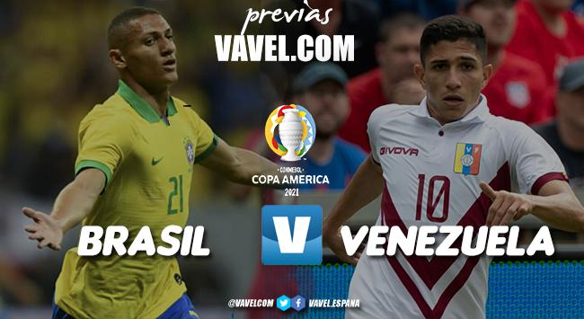 Previa Brasil - Venezuela: comienza la Copa América
